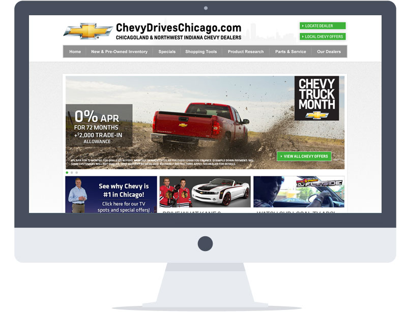 Website - Chevy Drives Chicago