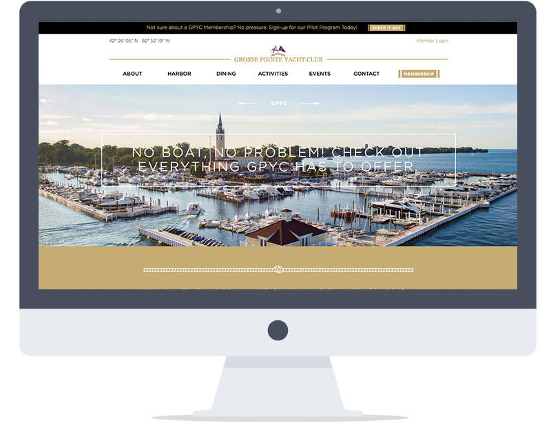 Website - Grosse Point Yacht Club
